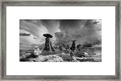 Sky City Casino Framed Print by Keith Kapple