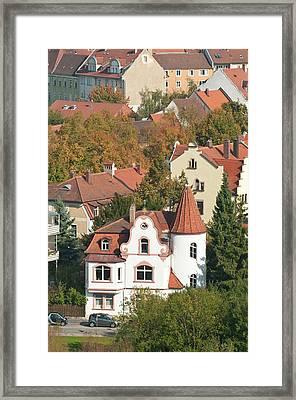 Skyline Of Bamberg, Germany Framed Print by Michael Defreitas