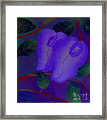 Framed Print featuring the digital art Sleeping Beauties by Latha Gokuldas Panicker
