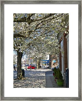 Small Town Saturday 2 Framed Print