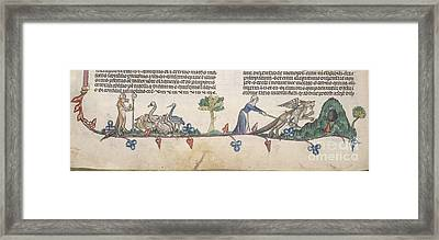 Smithfield Decretals Framed Print by British Library