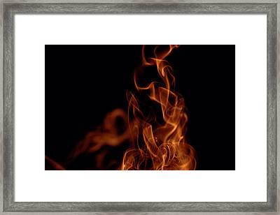 Smoke Framed Print by Marek Poplawski