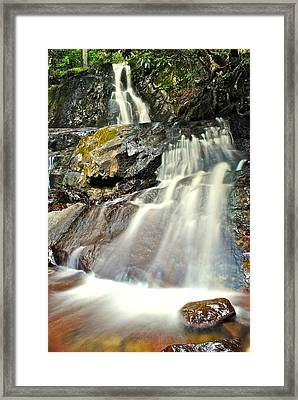 Smoky Mountain Falls Framed Print
