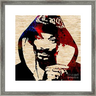 Snoop Dog Snoop Lion Framed Print