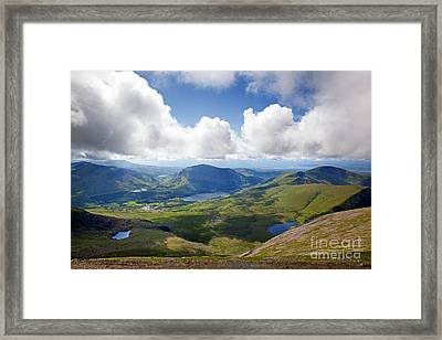 Snowdonia Framed Print by Jane Rix