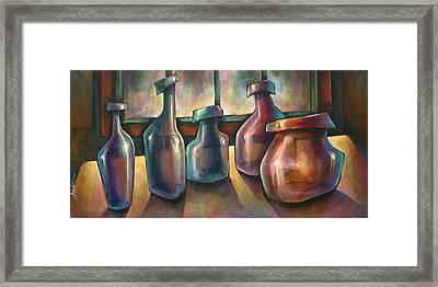 'soldiers' Framed Print by Michael Lang