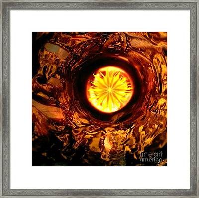 Framed Print featuring the mixed media Solstice by Steed Edwards