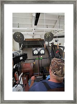 Soudan Mine Hoist Framed Print