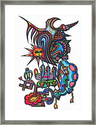 Soul Creatues From Heaven Framed Print by Robert Prins