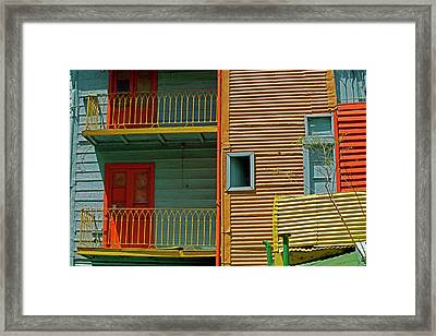 South America, Argentina, Buenos Aires Framed Print