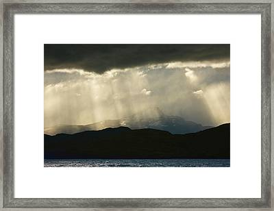 South America, Chile, Torres Del Paine Framed Print