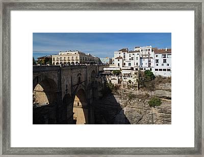 Spain, Andalucia Region, Malaga Framed Print by Walter Bibikow