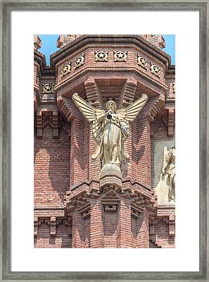 Spain, Barcelona, Arc De Triomf (large Framed Print by Jim Engelbrecht