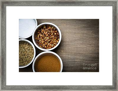 Spices  Framed Print by Edward Fielding