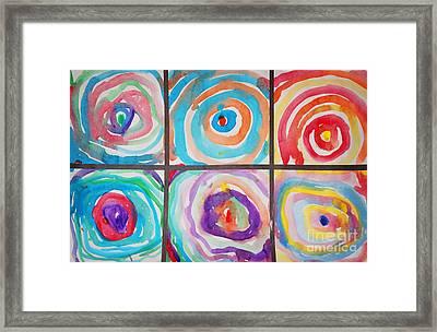 Spirals Framed Print by Celestial Images