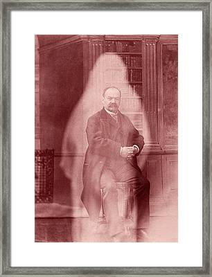 Spirit Photograph Framed Print by American Philosophical Society