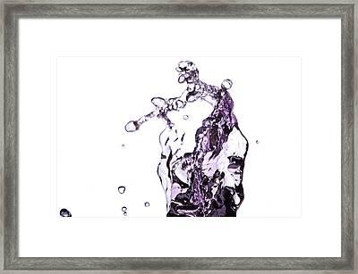 Splash 4 Framed Print