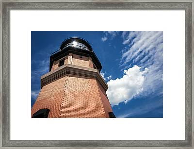 Split Rock Lighthouse Framed Print