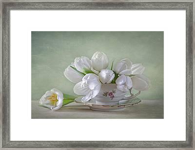 Spring Flowers Framed Print by Steffen Gierok