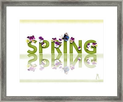 Spring Framed Print by Veronica Minozzi