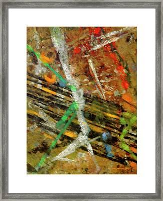 Spruzzi I Framed Print