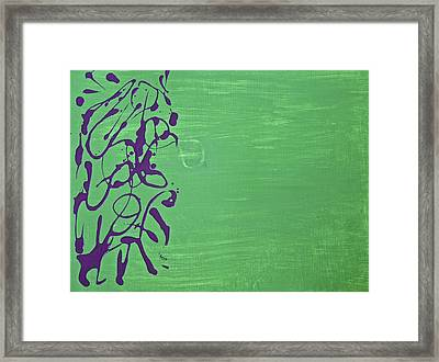 Squiggle Series Framed Print