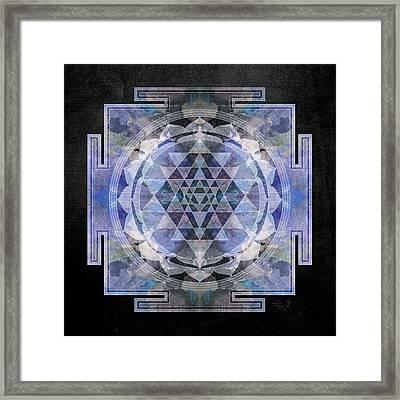 Sri Yantra  Framed Print