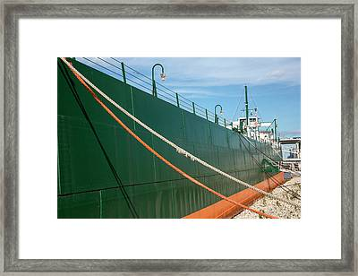 Ss Colonel James M. Schoonmaker Framed Print by Jim West