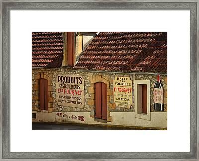 St Cyprien En Perigord Framed Print