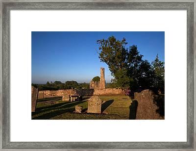 St Marys Augustinian Abbey, Ferns Framed Print