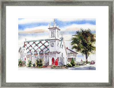 St Pauls Episcopal Church  Framed Print by Kip DeVore