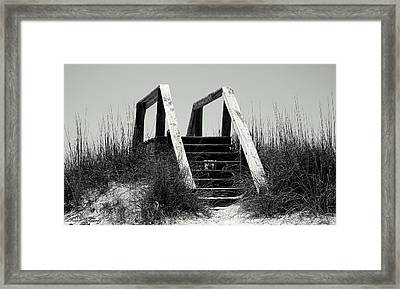 Stairway To Heaven Framed Print by Debra Forand