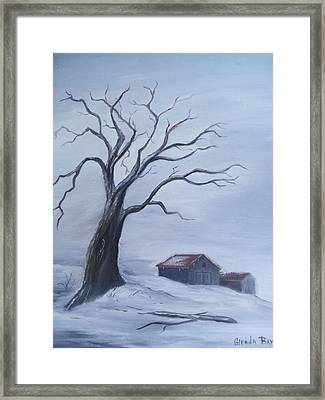 Standing Alone Framed Print by Glenda Barrett