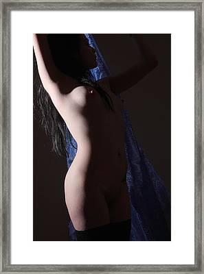 Standing In The Light Framed Print by Joe Kozlowski