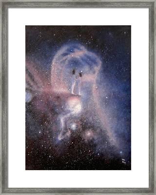 Star Couple Framed Print