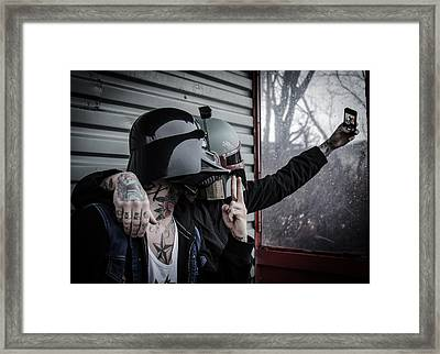 Star Wars Framed Print by Marino Flovent