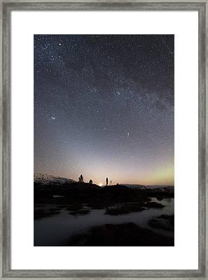 Stargazing Framed Print by Tommy Eliassen
