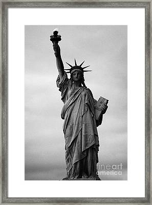 Statue Of Liberty National Monument Liberty Island New York City Framed Print