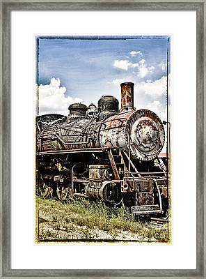 Steam Engine  Framed Print by Birgit Tyrrell