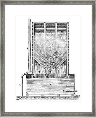 Steam Engine Condenser Framed Print by Science Photo Library