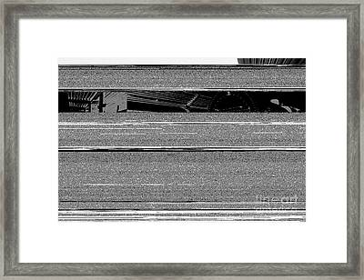 Steam Locomotive Train At Bangor Station Northern Ireland Framed Print by Joe Fox