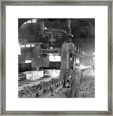 Steel Factory, C1907 Framed Print by Granger