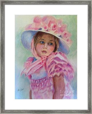 Steffi Framed Print