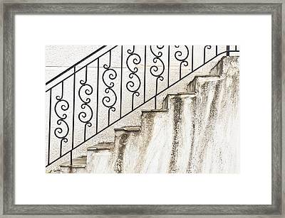Steps Framed Print