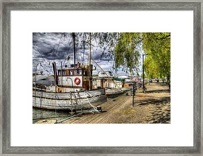 Stockholm Harbor    Sweden Framed Print