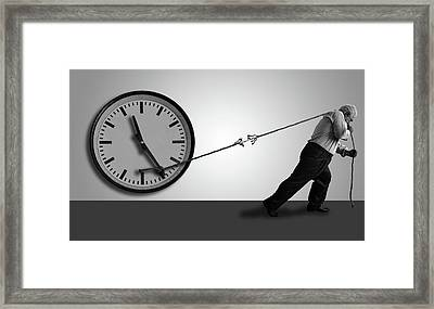 Stop The Time Framed Print