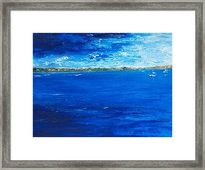 Storm A Comin Framed Print by Conor Murphy