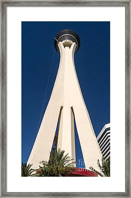 Stratosphere Las Vegas Framed Print by Edward Fielding