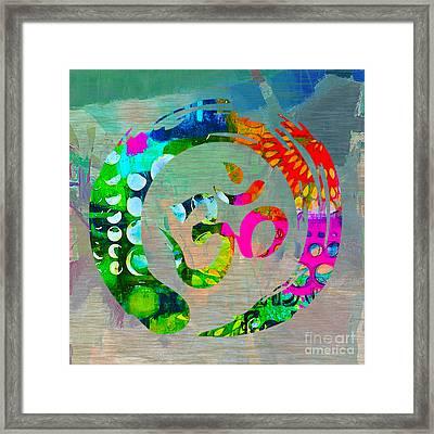 Stream Of Inspiration Framed Print