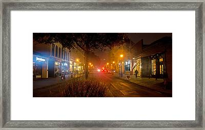 2 Street East Framed Print